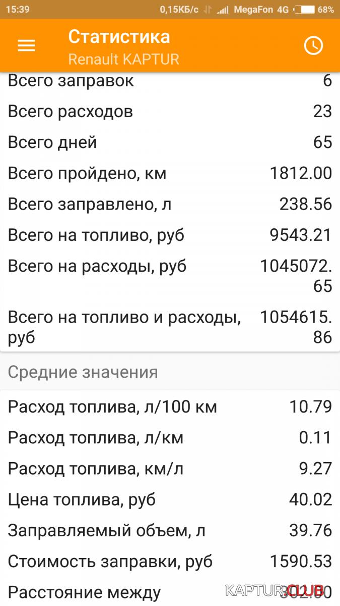 Screenshot_2018-03-05-15-39-04-818_com.blogspot.fuelmeter.png | Рено Каптур Клуб Россия | Форум KAPTUR.club